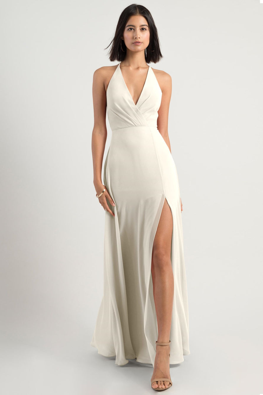 Jenny Yoo Bridesmaid Dress bryce_winter_white
