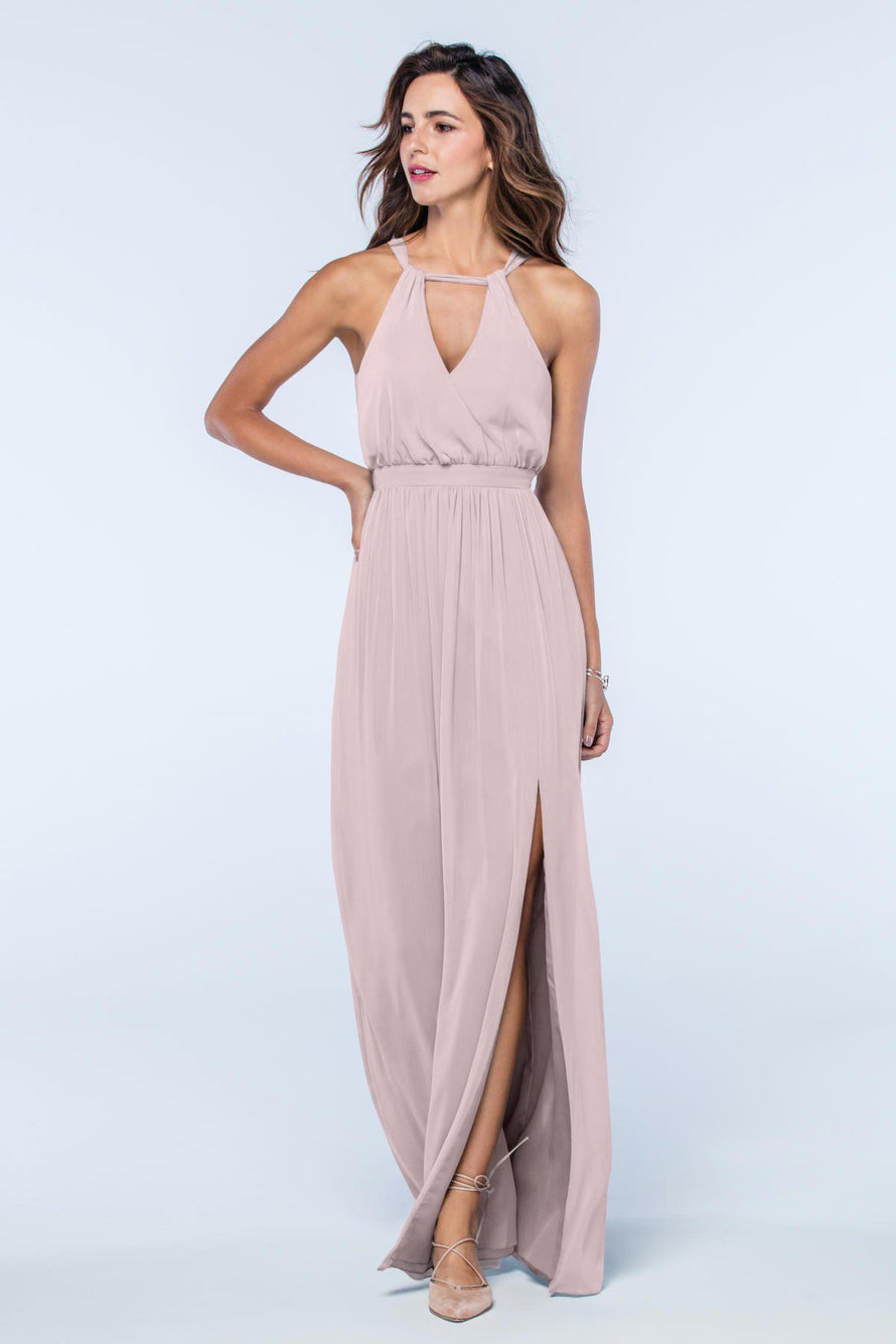 Watters Dress Fleurette burnished_lilac