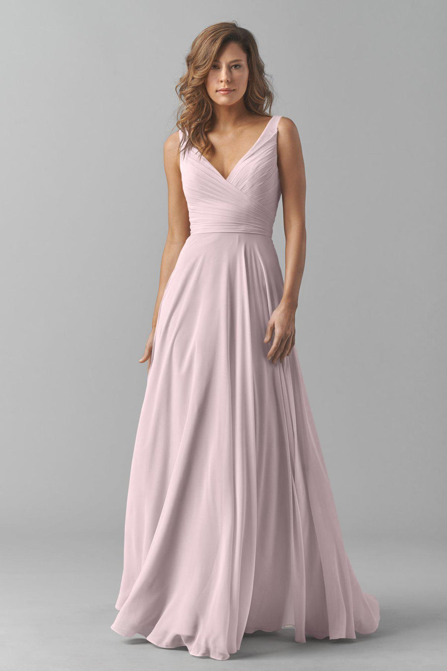 Watters Bridesmaid Dress Karen Burnished Lilac