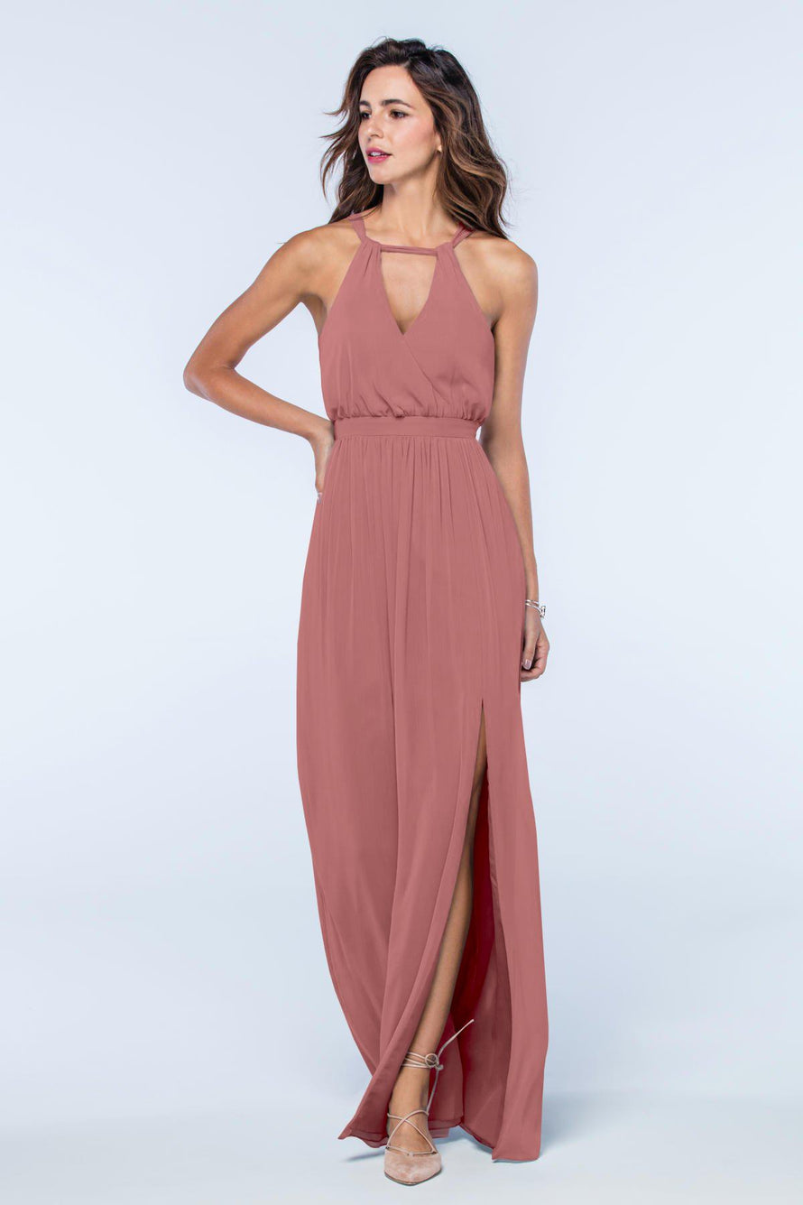 Watters Dress Fleurette canyon