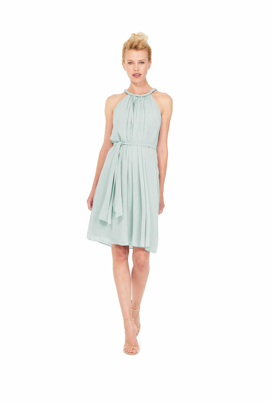 Joanna August Short Bridesmaid Dress Catherine Sage