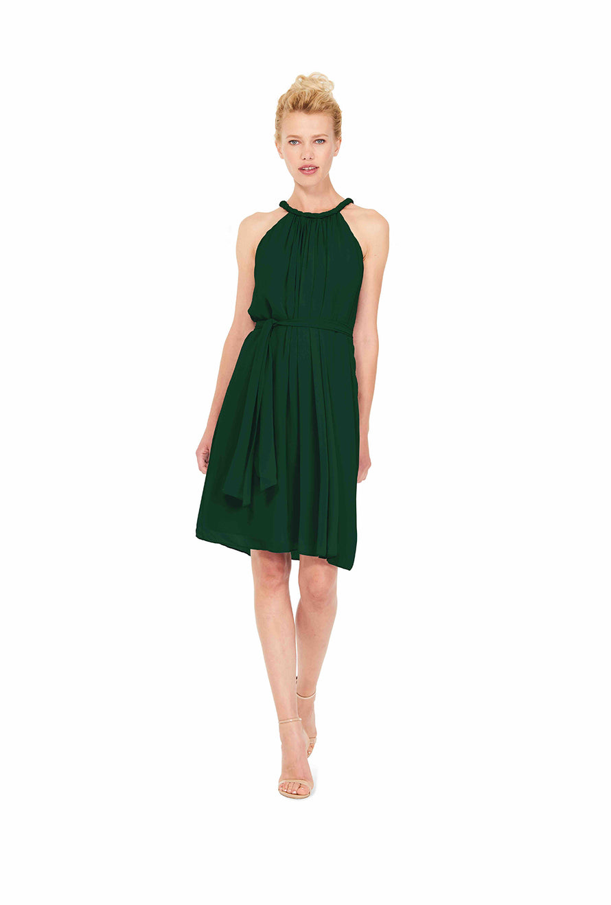 Emerald Joanna August Short Bridesmaid Dress Catherine