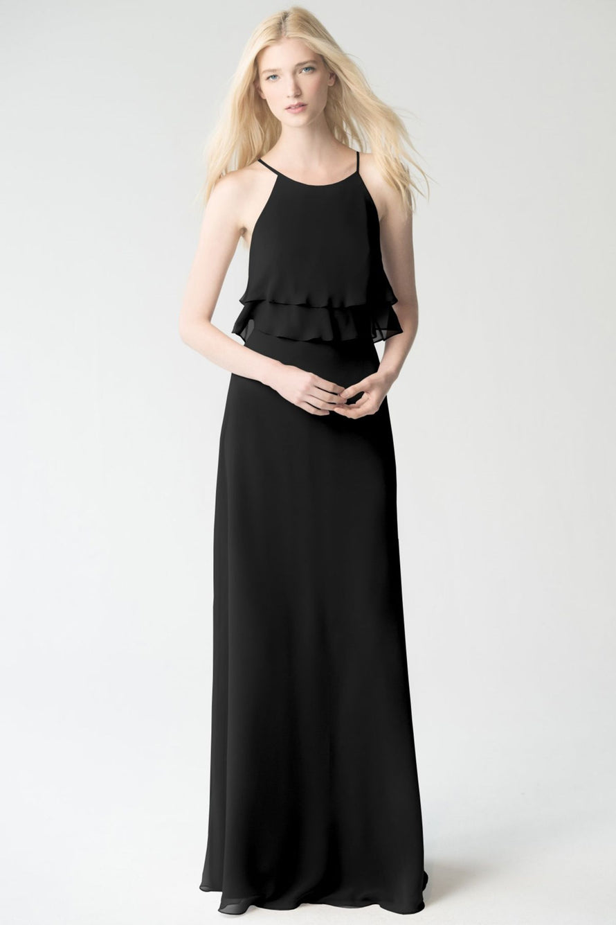 black Jenny Yoo Bridesmaid Dress Charlie