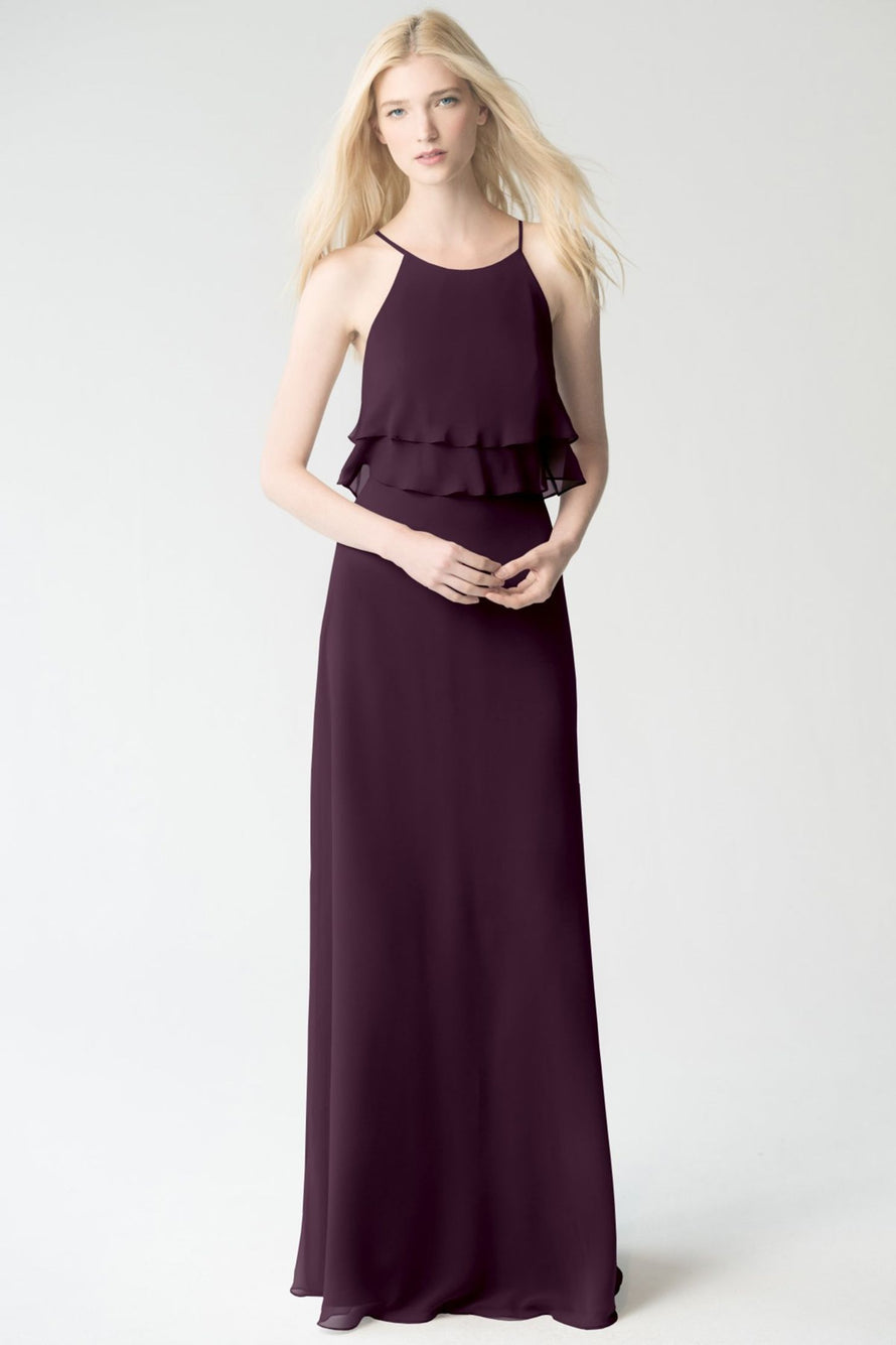 black_current Jenny Yoo Bridesmaid Dress Charlie