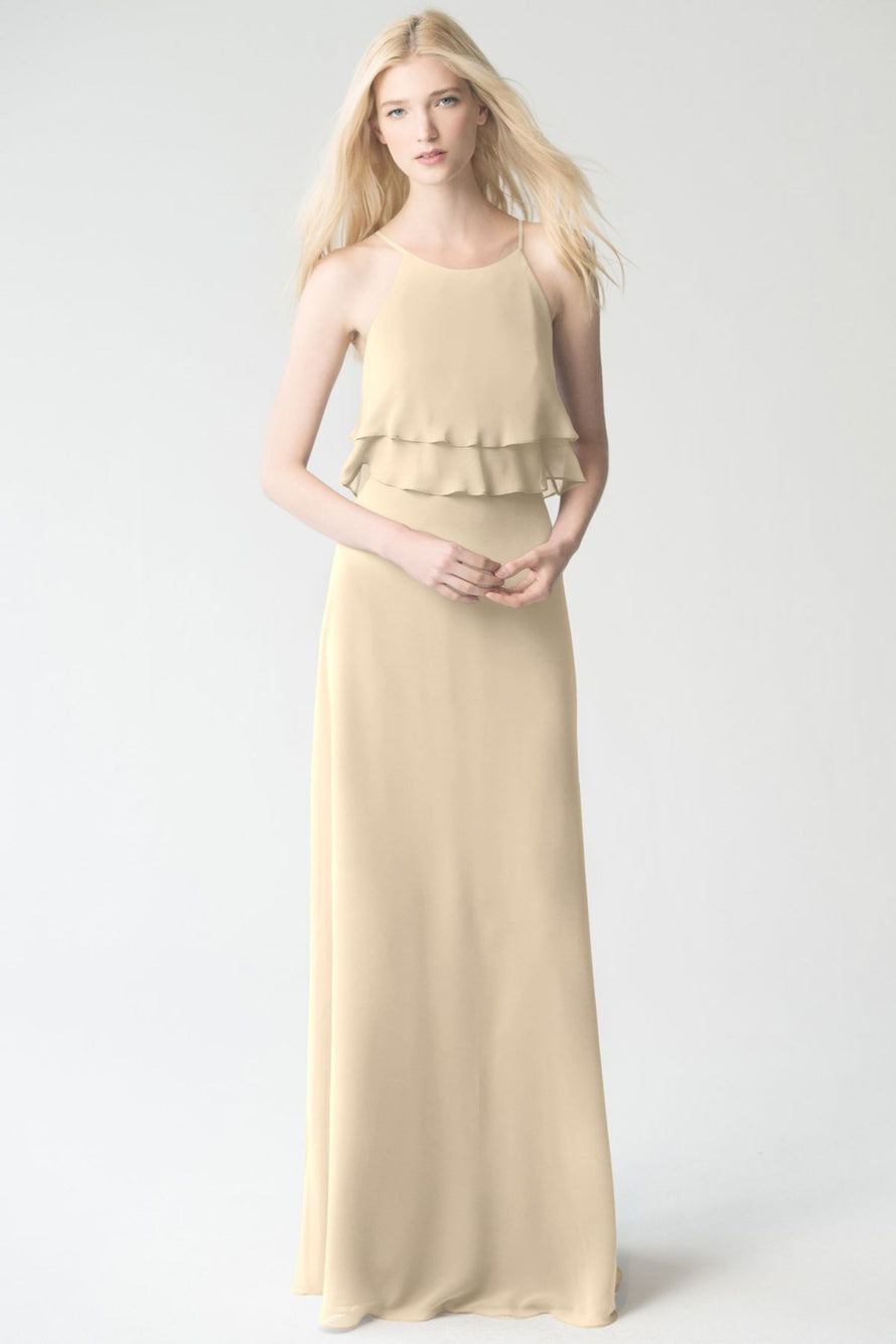 champagne Jenny Yoo Bridesmaid Dress Charlie