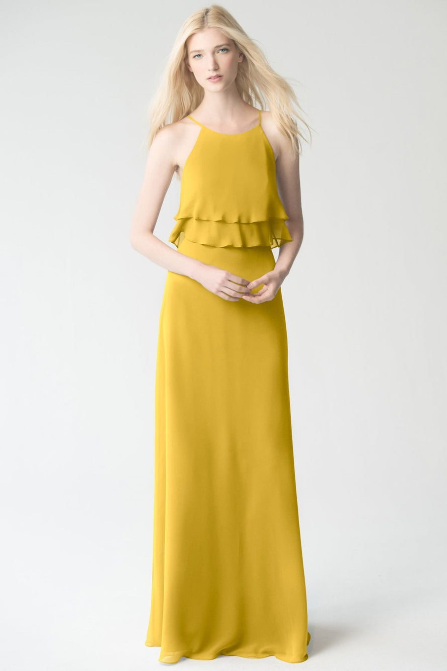 chartreuse Jenny Yoo Bridesmaid Dress Charlie