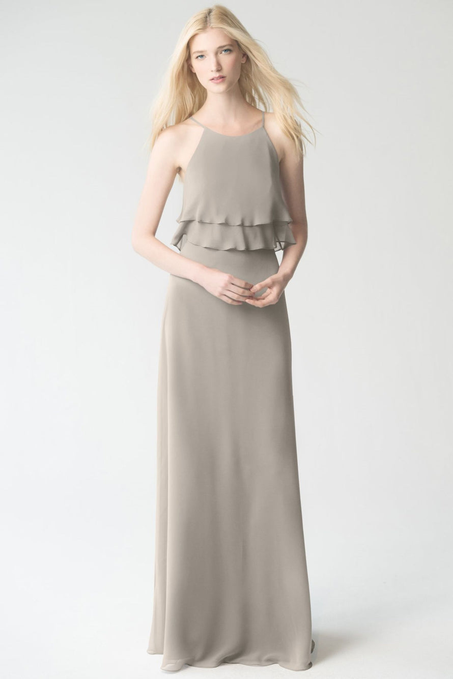 earl_grey Jenny Yoo Bridesmaid Dress Charlie