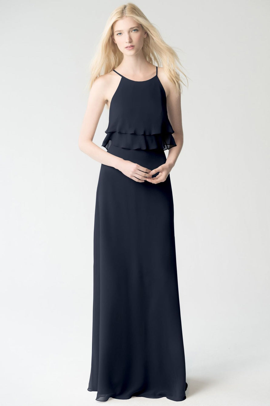 navy Jenny Yoo Bridesmaid Dress Charlie