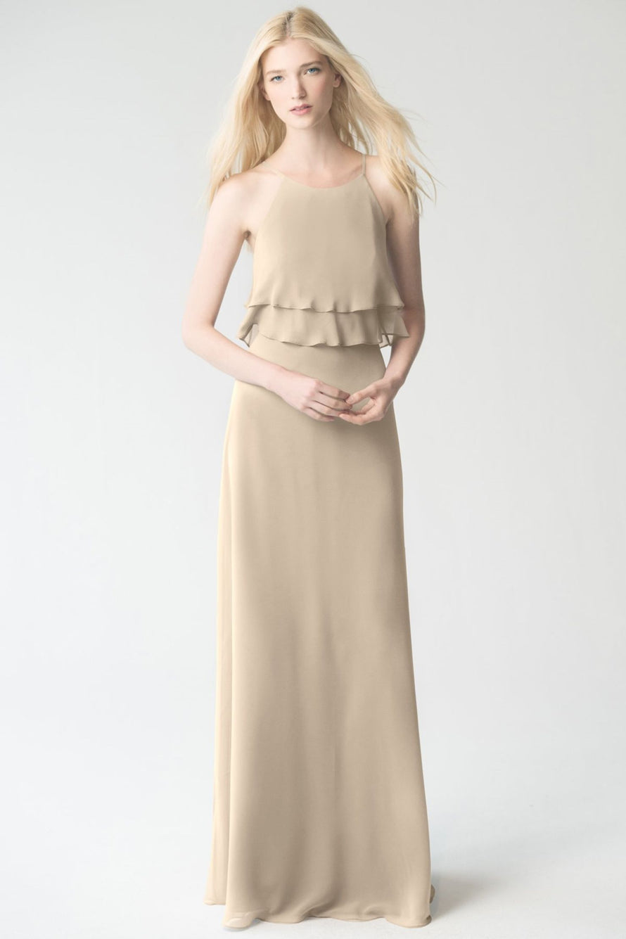 sand_dune Jenny Yoo Bridesmaid Dress Charlie