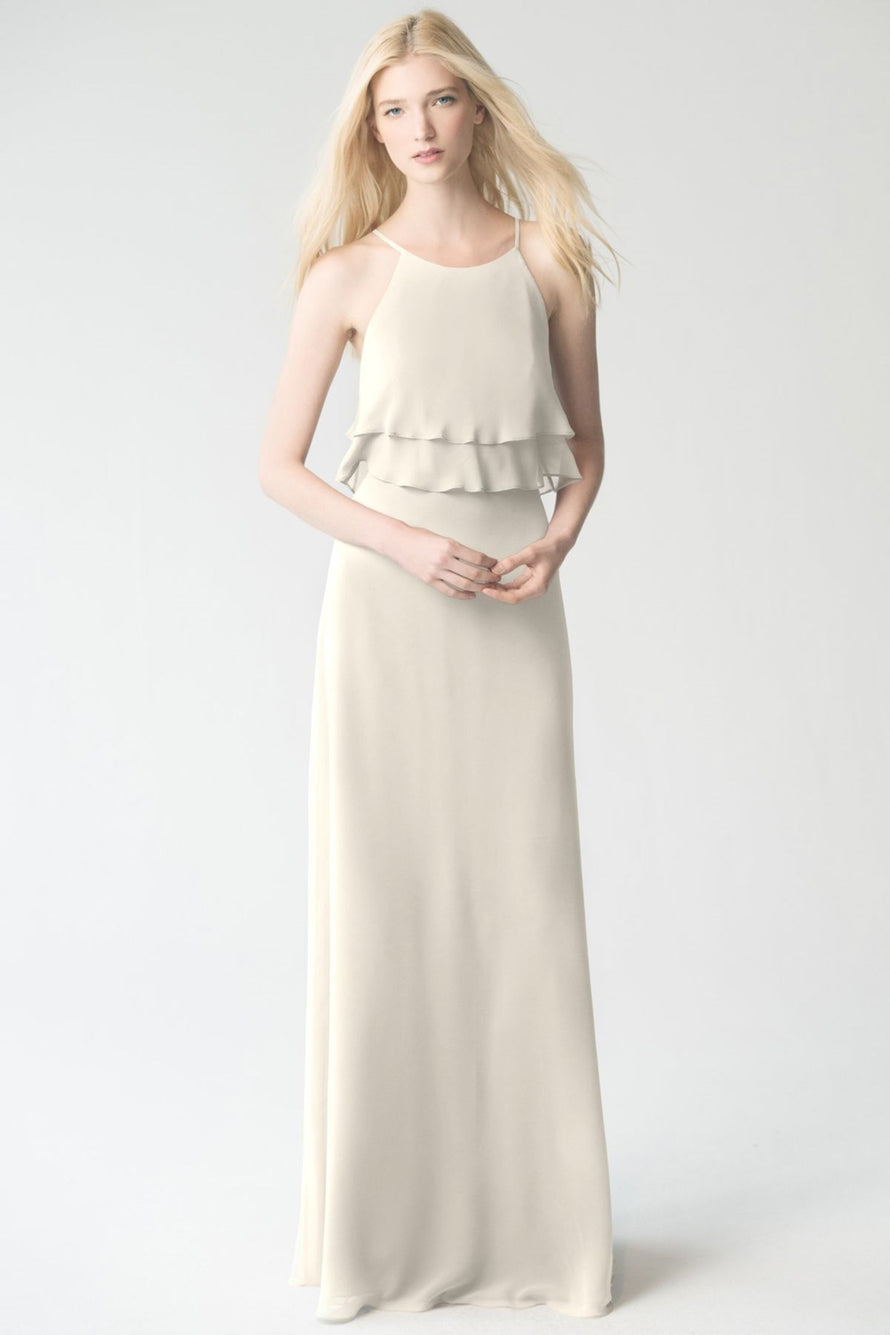 winter_white Jenny Yoo Bridesmaid Dress Charlie