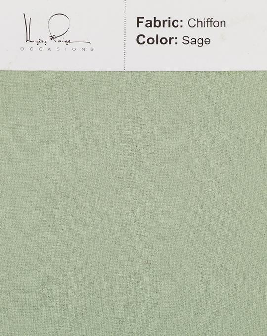 sage-color-chiffon-fabric