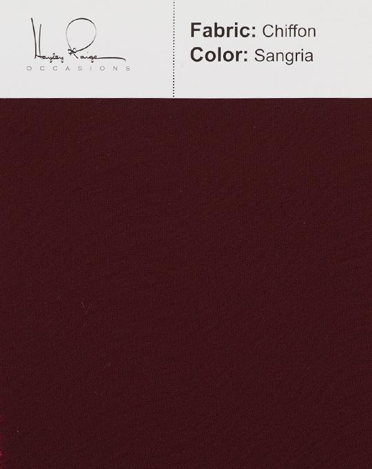 sangria-color-chiffon-fabric