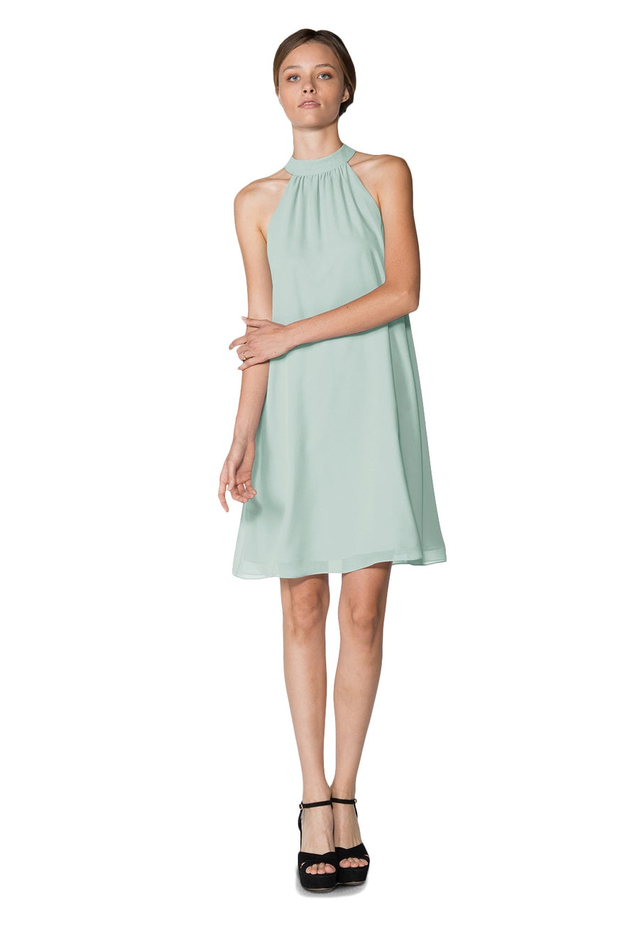 Sage Short Cocktail Dress