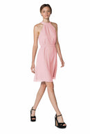 Pink Joanna August Short Bridesmaid Dress Elena