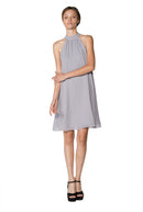 Silver Short Cocktail Dress