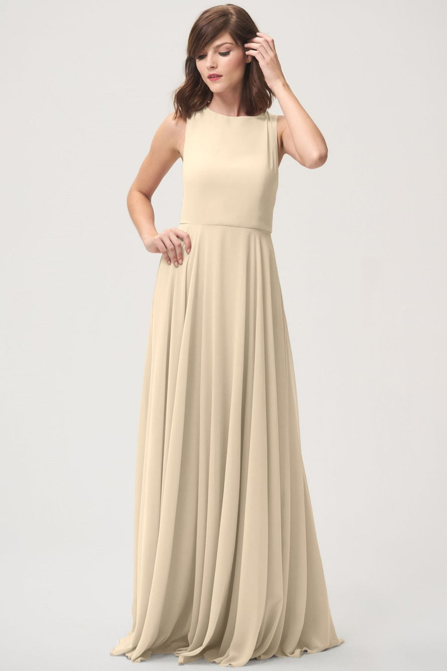 Jenny Yoo Long Bridesmaid Dress Elizabeth