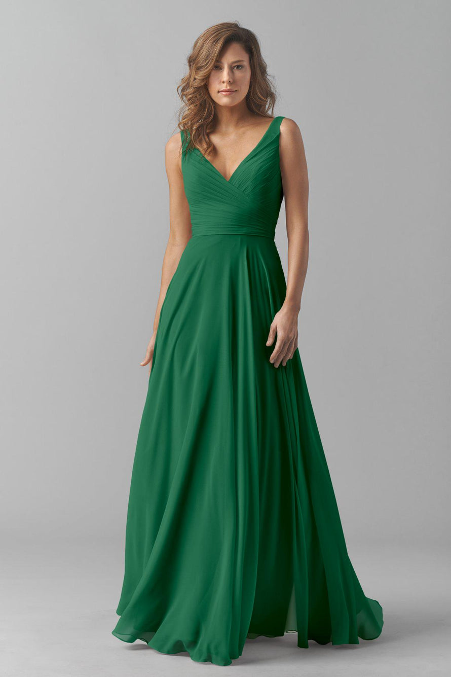 Watters Bridesmaid Dress Karen Emerald