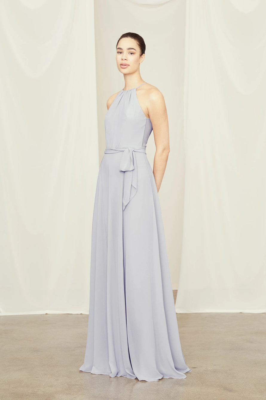 Amsale Long Bridesmaid Dress Delaney