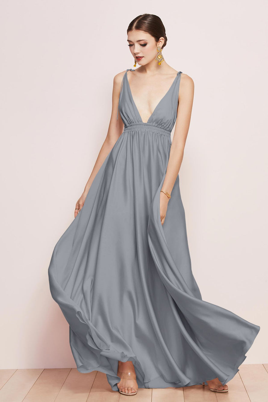 Watters Bridesmaid Dress Quentin french blue