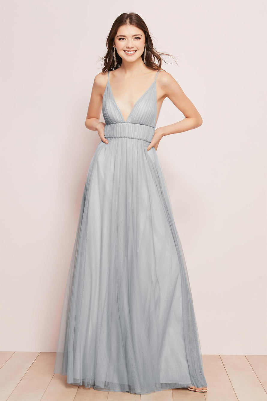 Wtoo by Watters Bridesmaid Dress Callie (Solid) front