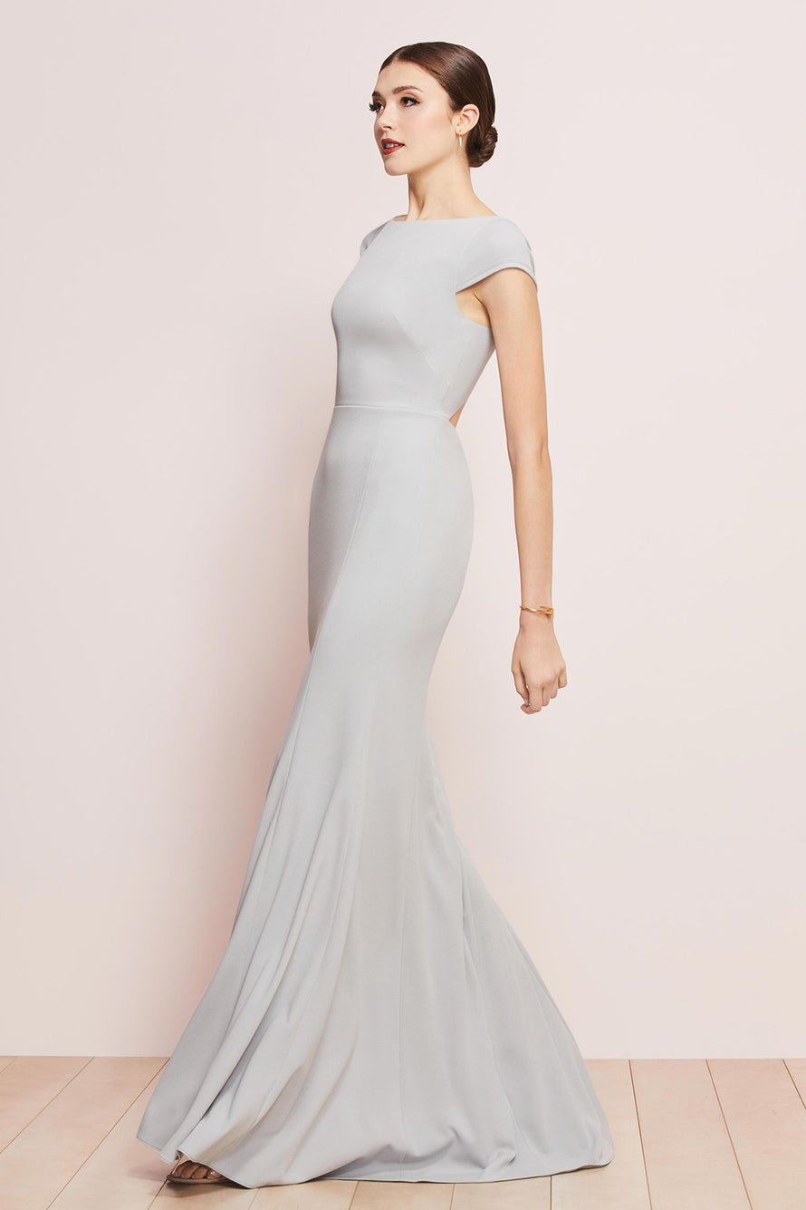 Watters Bridesmaid Dress Parker french blue
