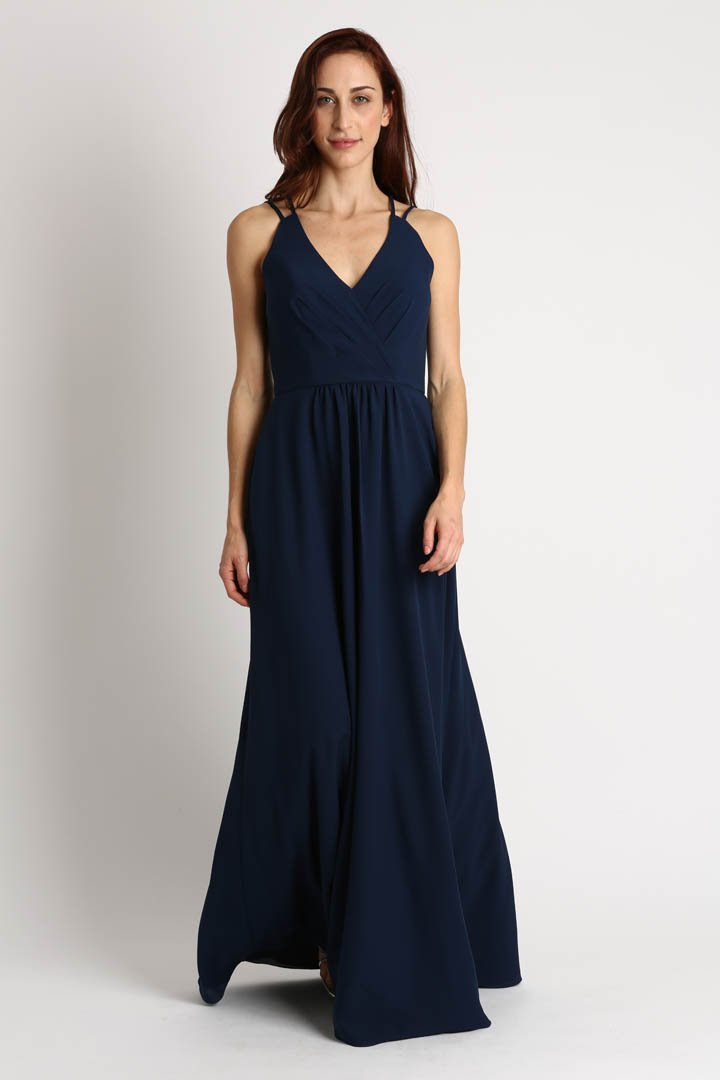 Parker Rose Bridesmaid Dress Style G10318 front