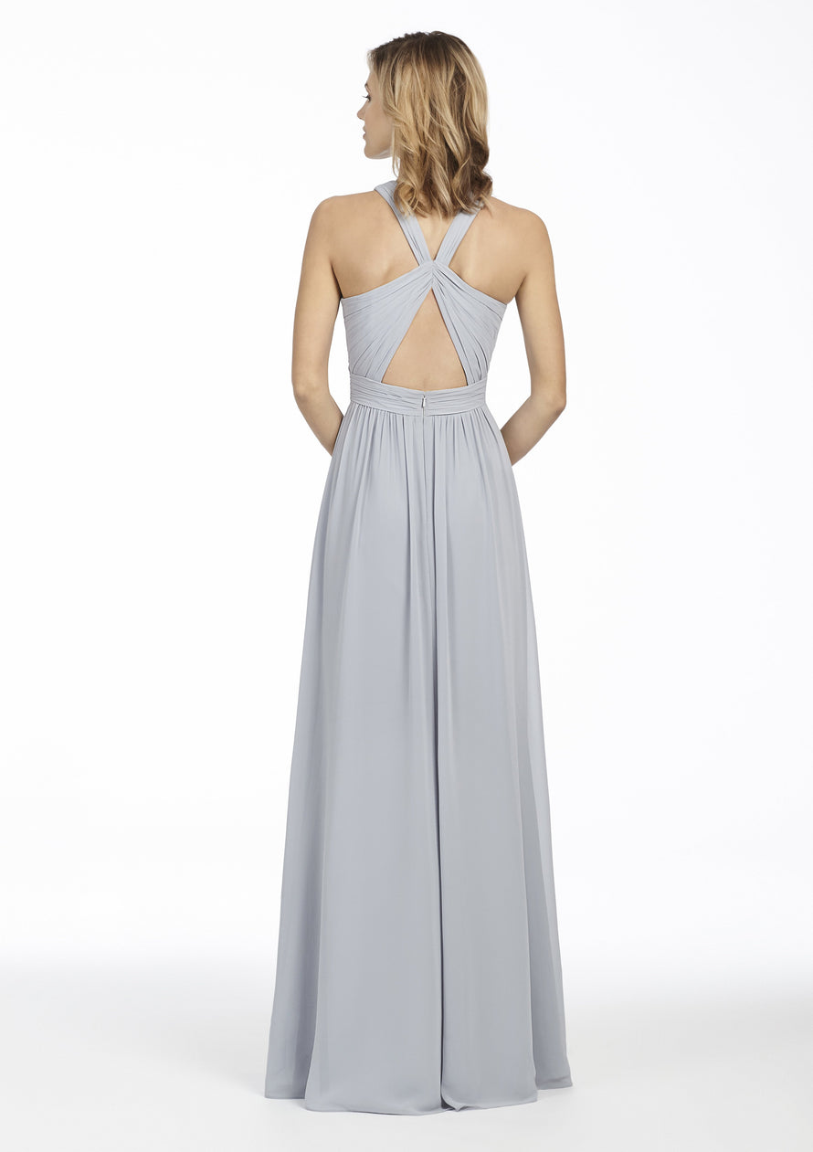 Hayley Paige Occasions Long Bridesmaid Dress - 5760