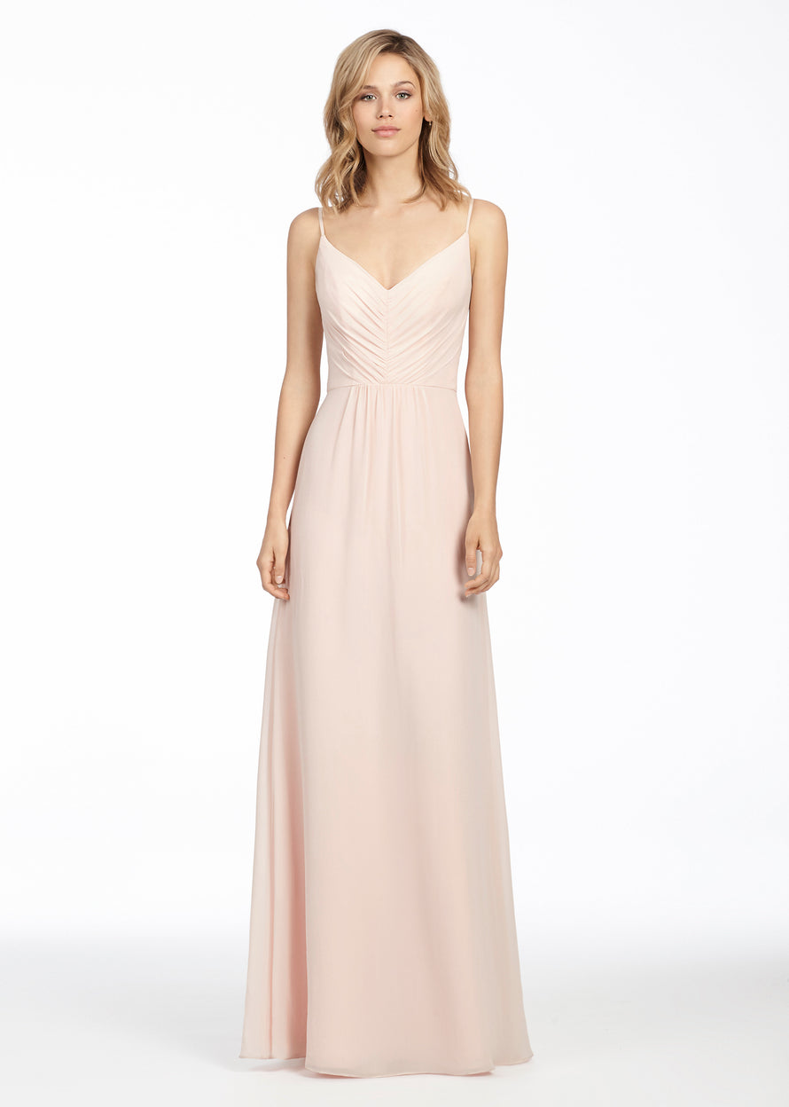 Hayley Paige Occasions Long Bridesmaid Dress - 5763