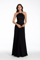 Hayley Paige Occasions Long Bridesmaid Dress - 5715