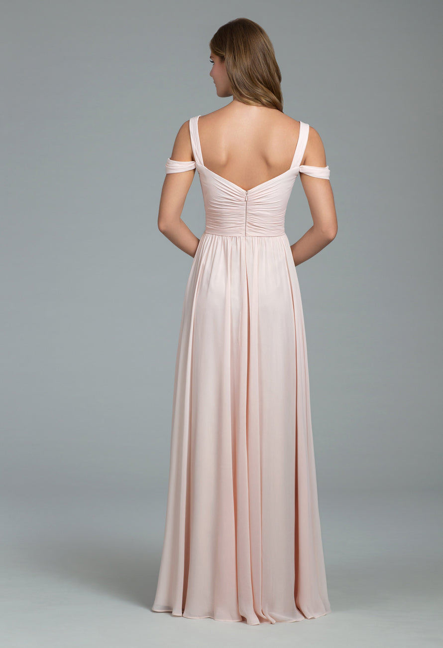 Hayley Paige Occasions Long Bridesmaid Dress - 5801