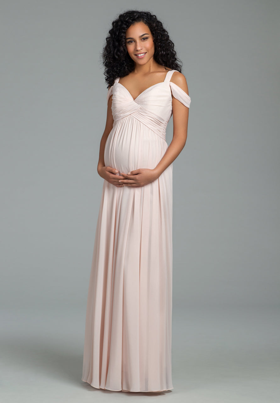 8bb097613cf1 Hayley Paige Bridesmaid Maternity Dress Style 5820 | Bella Bridesmaids
