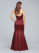 Hayley Paige Occasions Long Bridesmaid Dress - 5852 back