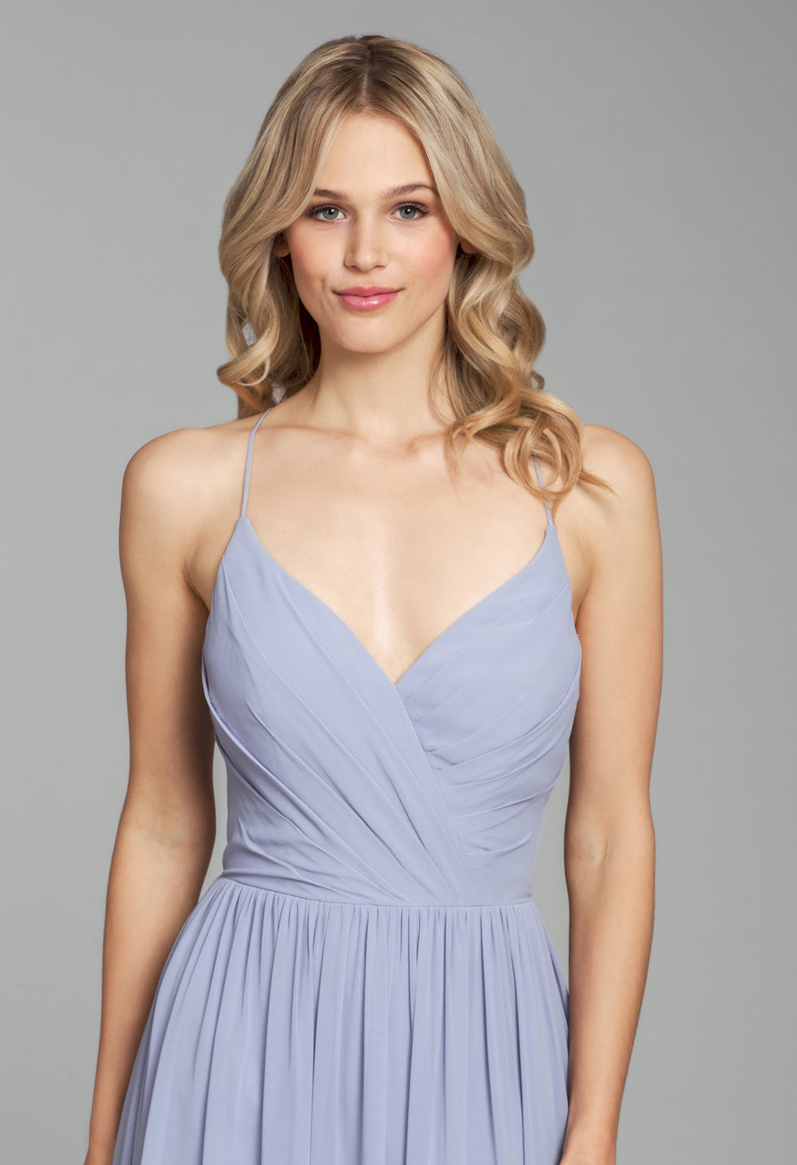 Hayley Paige Occasions Long Bridesmaid Dress - 5855
