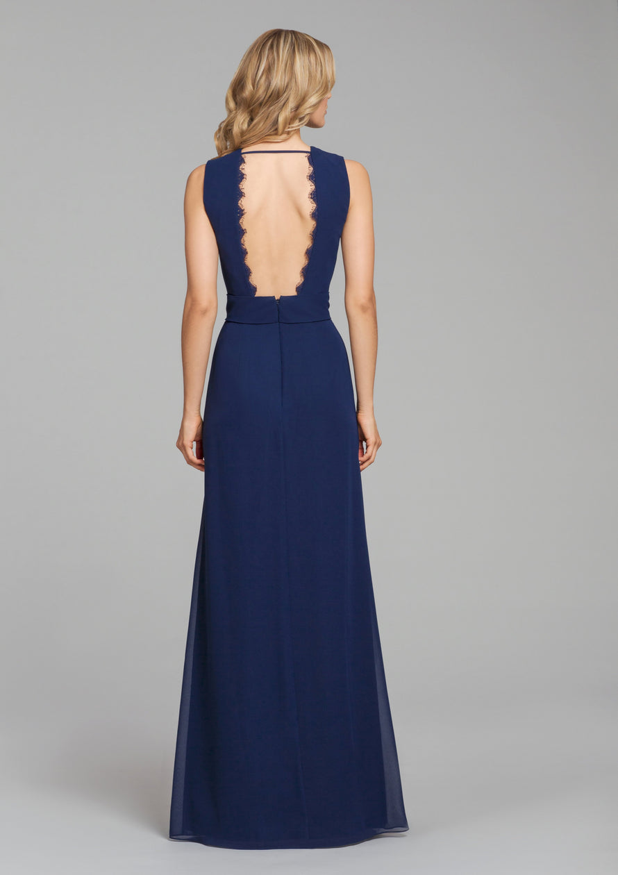 Hayley Paige Occasions Long Bridesmaid Dress - 5866
