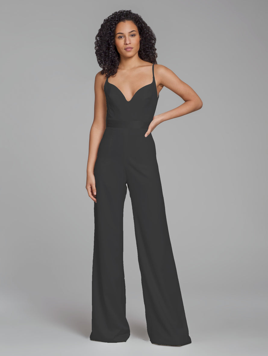 Hayley Paige Bridesmaid Jumpsuit Style 5868