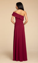 Hayley Paige Occasions Long Bridesmaid Dress Style 5914 back
