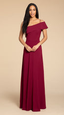 Hayley Paige Occasions Long Bridesmaid Dress Style 5914 front
