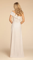 Hayley Paige Occasions Long Bridesmaid Dress - 5914