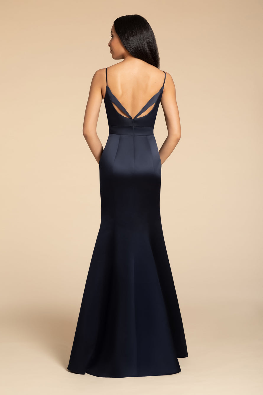 Hayley Paige Occasions Long Bridesmaid Dress - 5915 back