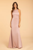 Hayley Paige Occasions Long Bridesmaid Dress - 52003 front