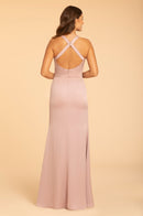 Hayley Paige Occasions Long Bridesmaid Dress - 52003 back