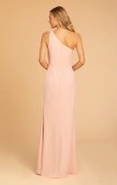 Hayley Paige Occasions Long Bridesmaid Dress - 52004 back