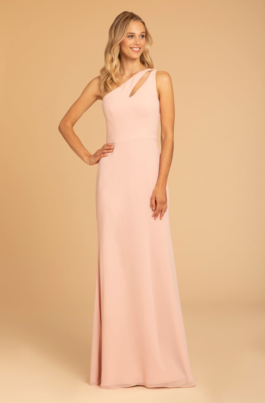 Hayley Paige Occasions Long Bridesmaid Dress - 52004 front