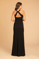 Hayley Paige Occasions Long Bridesmaid Dress - 52014 back