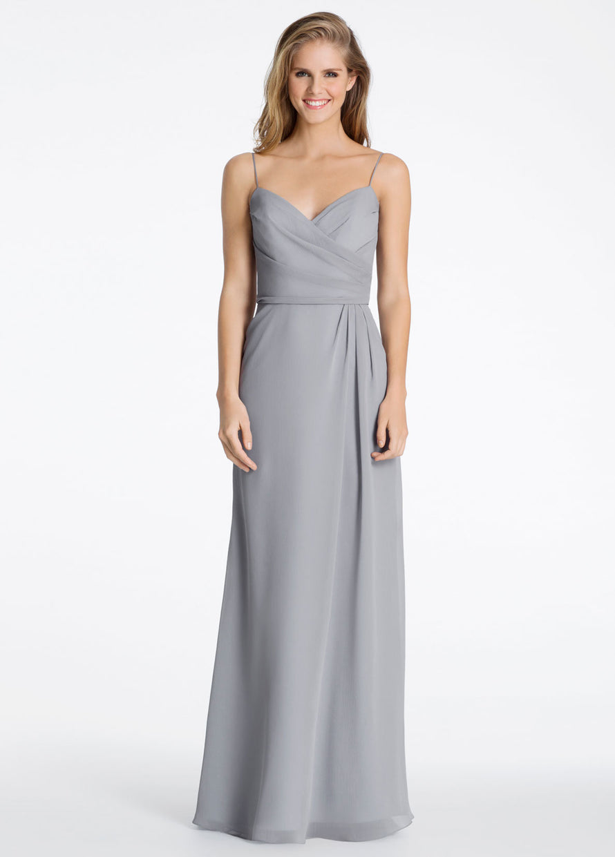 Hayley Paige Occasions Long Bridesmaid Dress - 5603 front