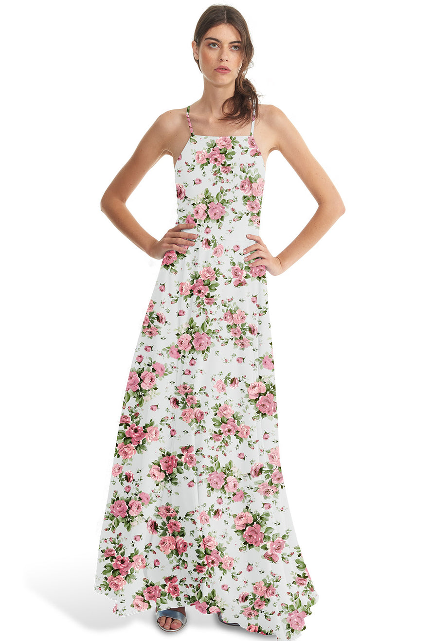 Joanna August Bridesmaid Dress Josephine Rose Print