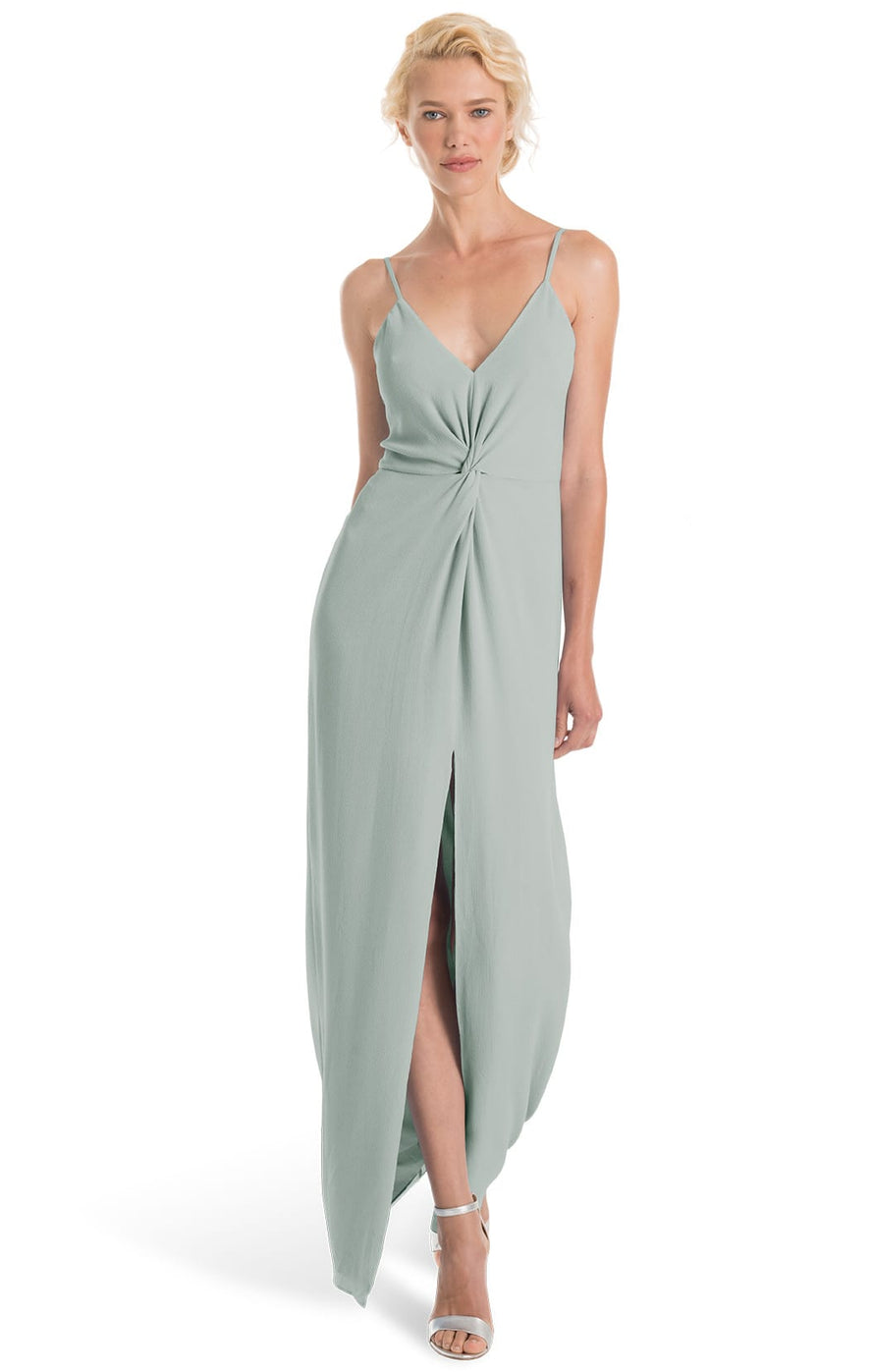 Joanna August Bridesmaid Long Dress Estelle-Sage