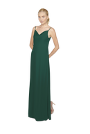 Emerald Long Bridesmaid Dress Kimi
