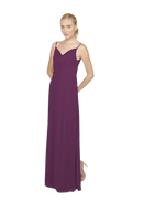 Purple Long Bridesmaid Dress Kimi