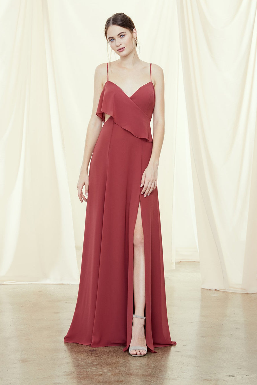 Amsale Long Bridesmaid Dress Arabella